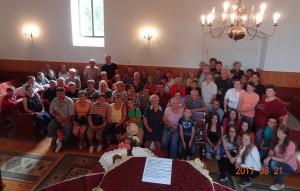 Leendő testvérgyülekezetünk tagjaival - Nagykágya